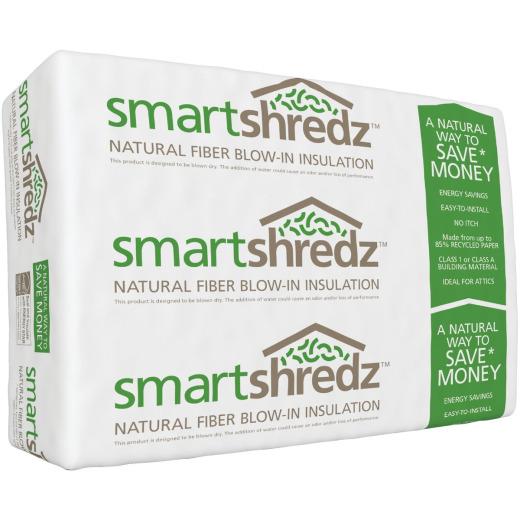 SmartShredz R-13 To R-60 19 Lb. Low Dust Loose Fill Cellulose Insulation