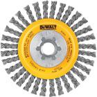 DeWalt High Performance 4 In. Carbon Stringer Bead Angle Grinder Wire Wheel Image 1
