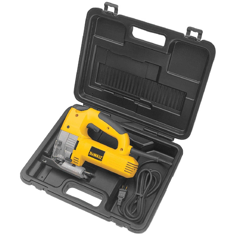 DeWalt 6.5A 4-Position 500-3100 SPM Jig Saw Kit Image 9