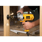 DeWalt 1/2 In. 10-Amp Keyless Electric Drill with Mid-Handle Grip Image 4
