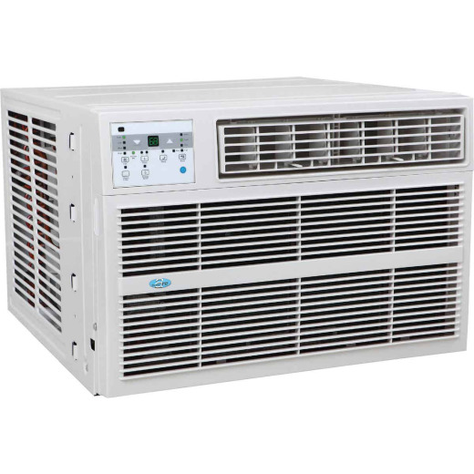 Perfect Aire 12,000 BTU 550 Sq. Ft. Window Air Conditioner with Electric Heater